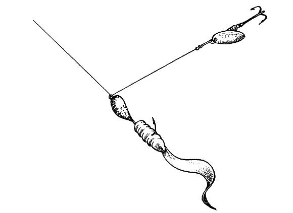 Ловля барабули на чёрном море